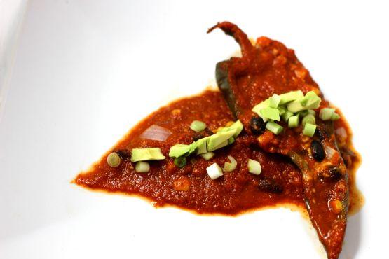 Stuffed Pasilla Pepper