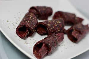 Chia Seed Fruit Roll Ups
