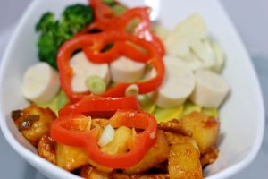 Sweet and Sour Tempeh