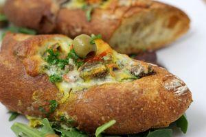 Garden Herb Breakfast Sandwich