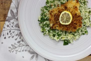 Lemon-Panko Cod