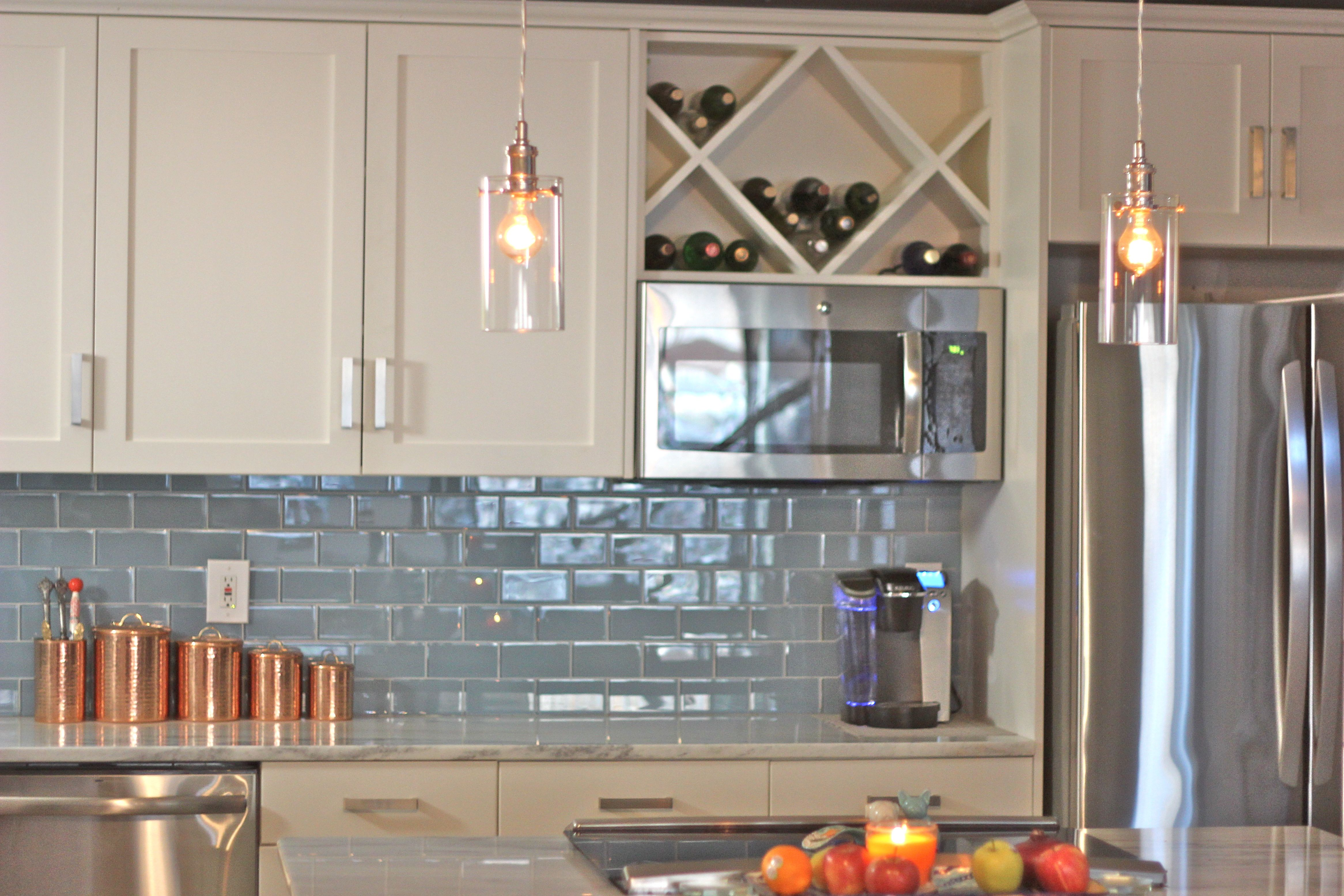 Built In Wine Racks Kitchen My Kitchen Kacey Tess