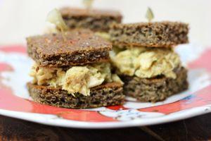Mayo-Free Tuna Salad Sandwich